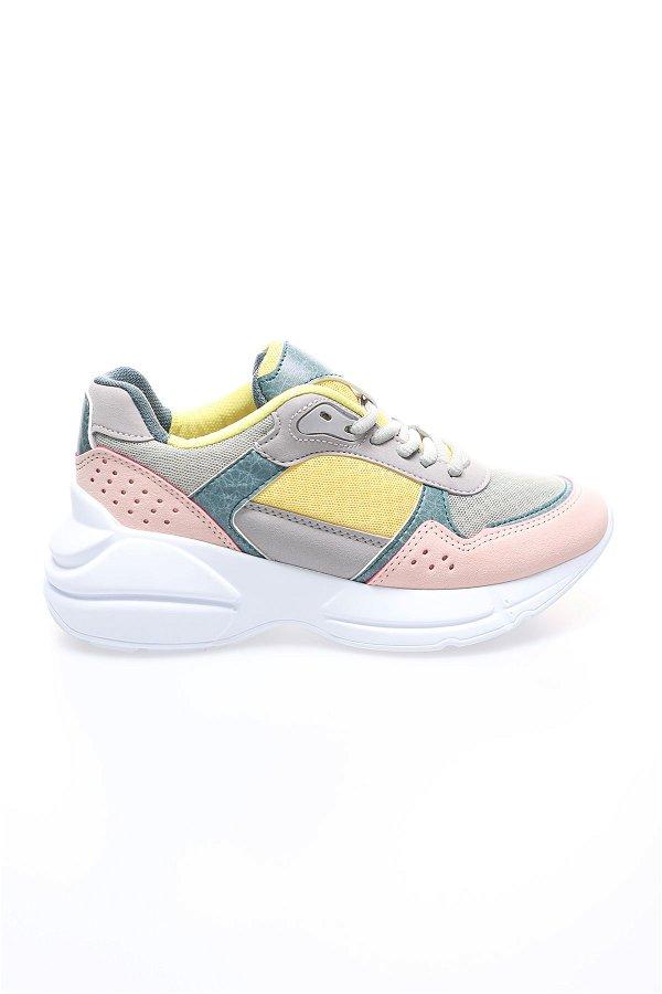 Kinetix Ava Kadın Spor Ayakkabı GRI