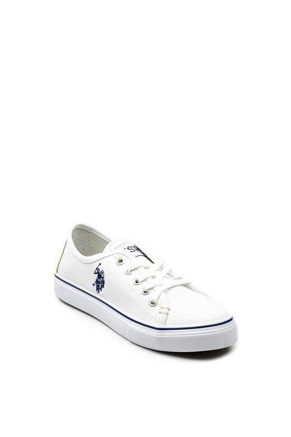 U.S Polo Toga Kadın Günlük Ayakkabı BEYAZ
