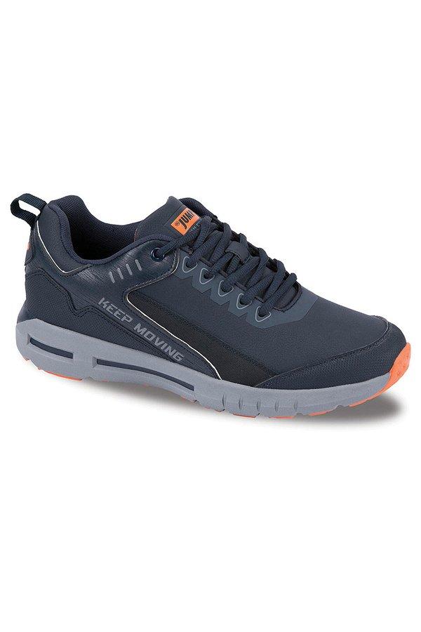Jump Bağcıklı Erkek Spor Ayakkabı NAVY-GRI