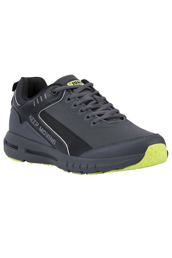 Jump Bağcıklı Erkek Spor Ayakkabı  GRI