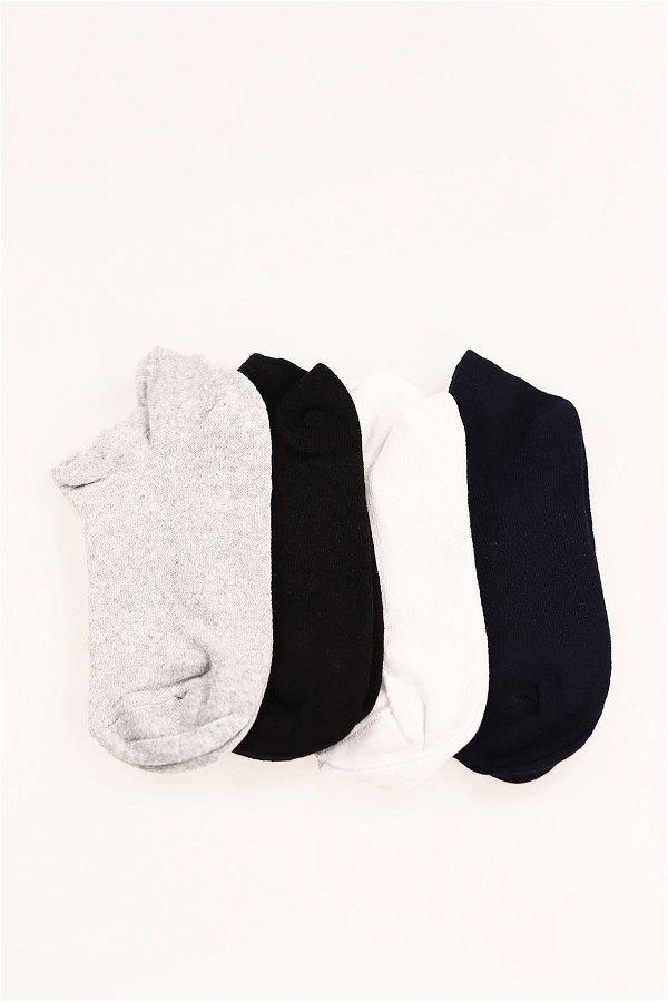 4'lü Patik Çorap STD