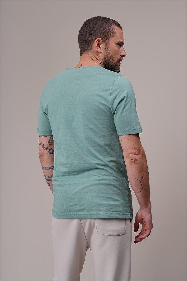 All New Yazı Baskılı T-shirt MINT