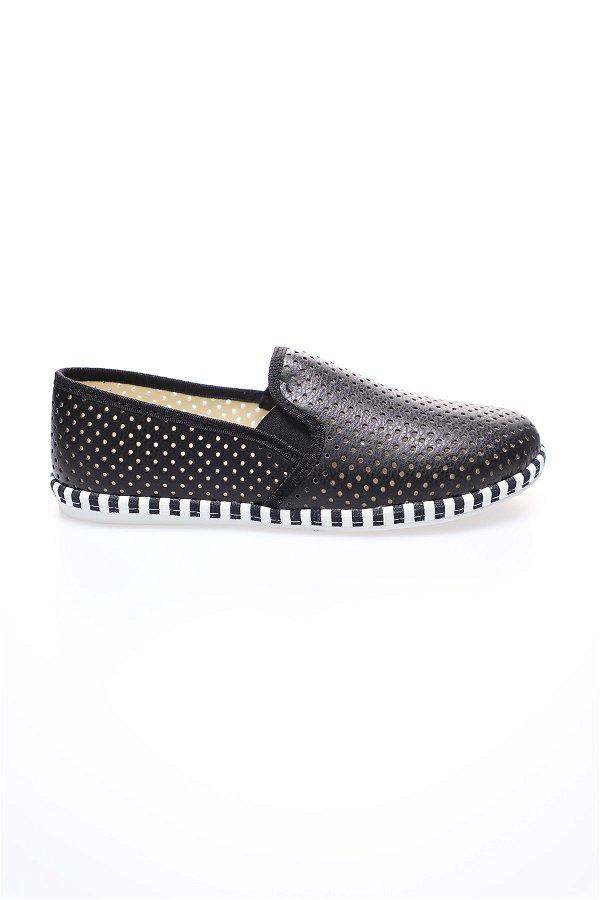 Lazerli Ayakkabı