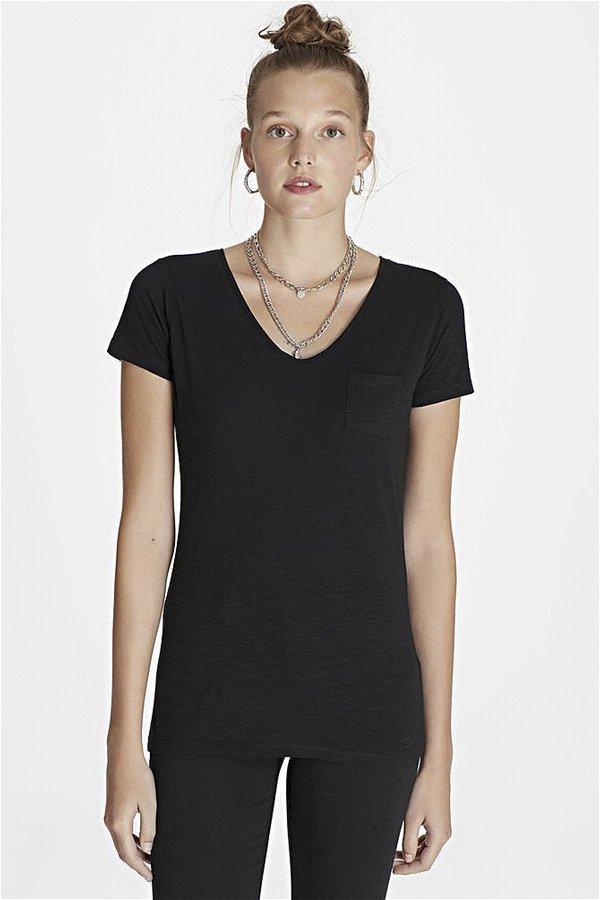 Mavi Basic T-shirt  SIYAH