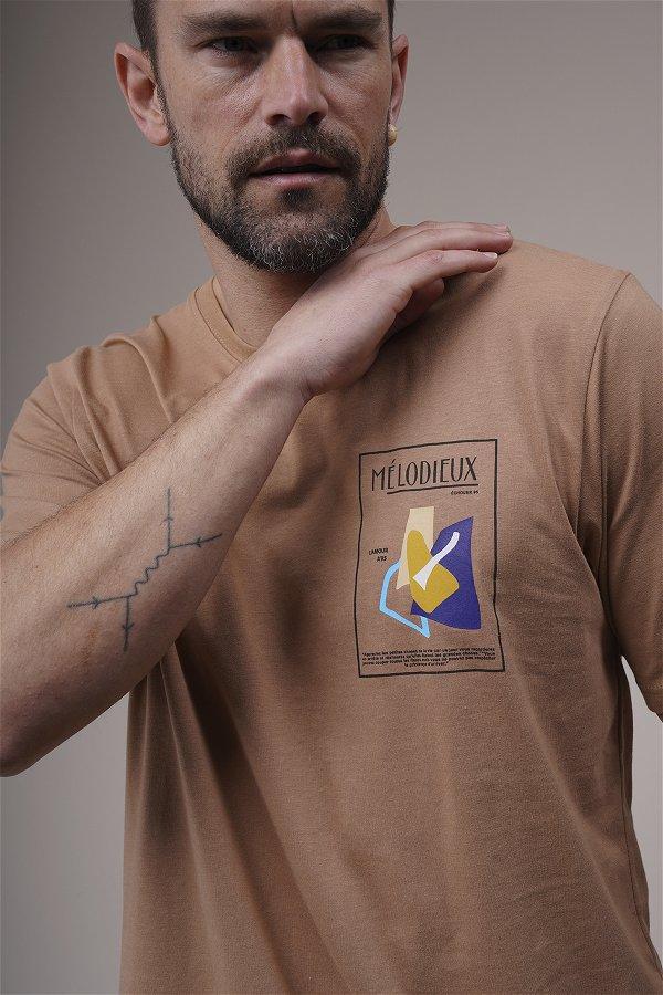Baskılı Oversize T-shirt BİSKÜVİ
