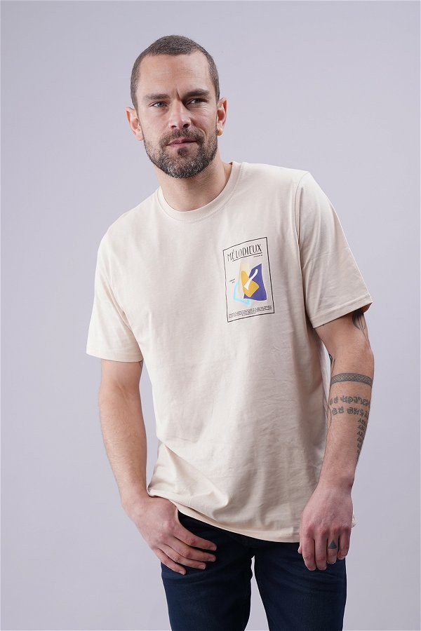 Baskılı Oversize T-shirt TAS