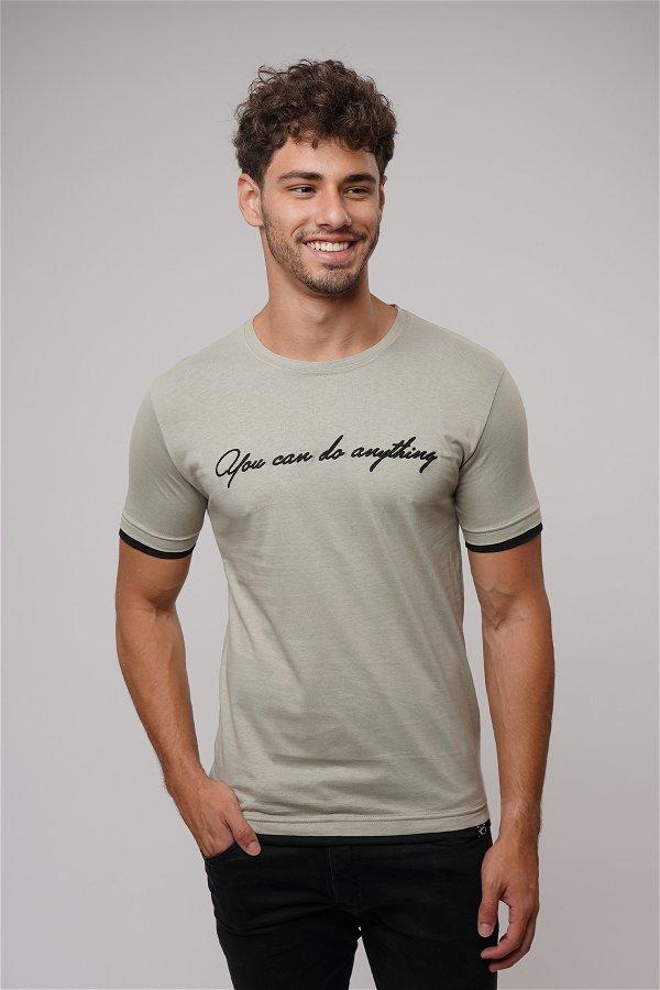 Baskılı T-shirt A.HAKİ