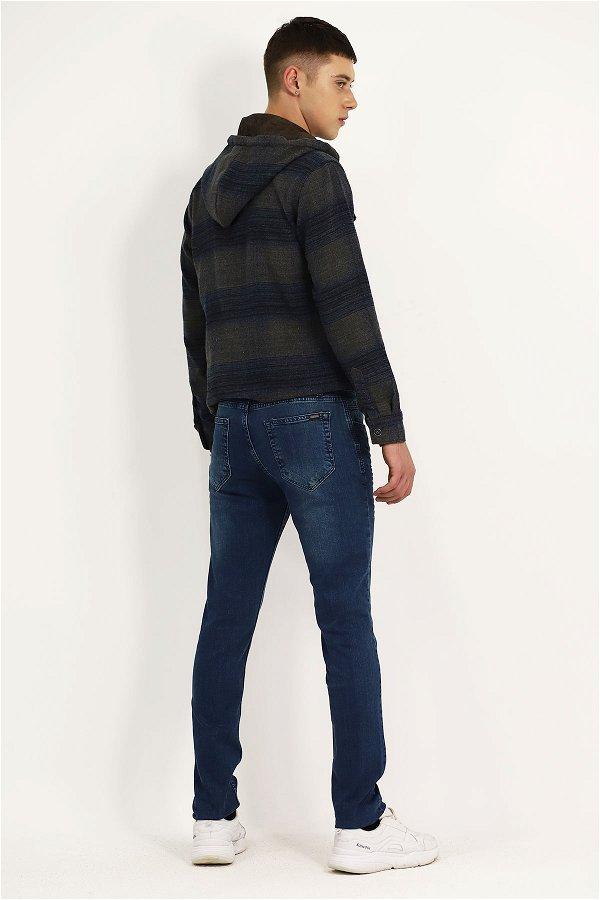 Yıkamalı Jeans K.MAVI