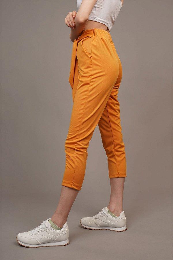 Bel Bağçıklı Pantolon HARDAL