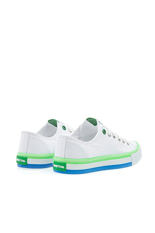 Benetton Erkek Spor Ayakkabı BEYAZ