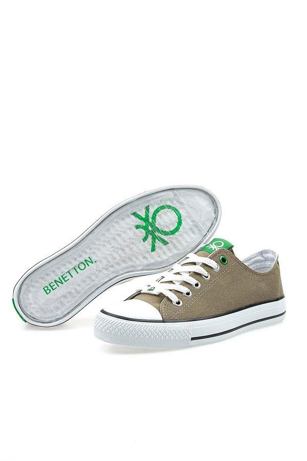 Benetton Erkek Spor Ayakkabı HAKI