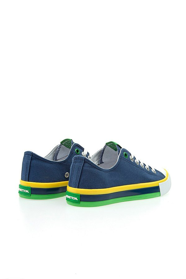 Benetton Erkek Spor Ayakkabı LACIVERT