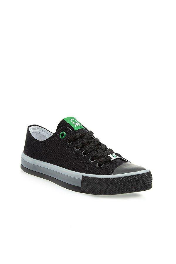 Benetton Erkek Spor Ayakkabı SIYAH