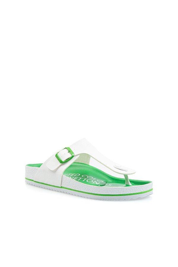 Benetton Erkek Terlik YESIL