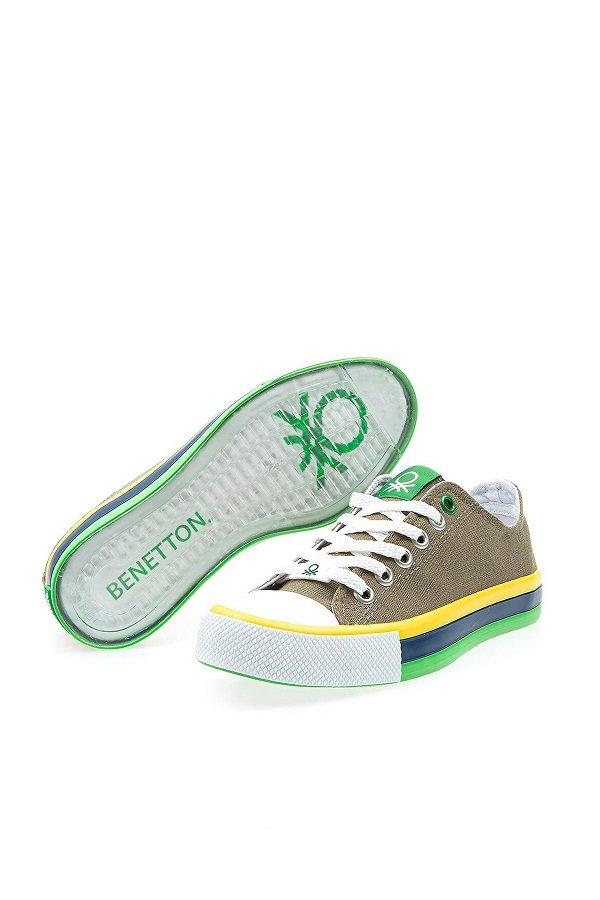 Benetton Kadın Spor Ayakkabı HAKI
