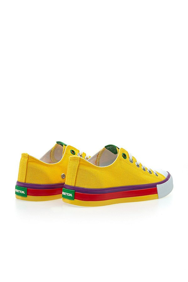 Benetton Kadın Spor Ayakkabı SARI