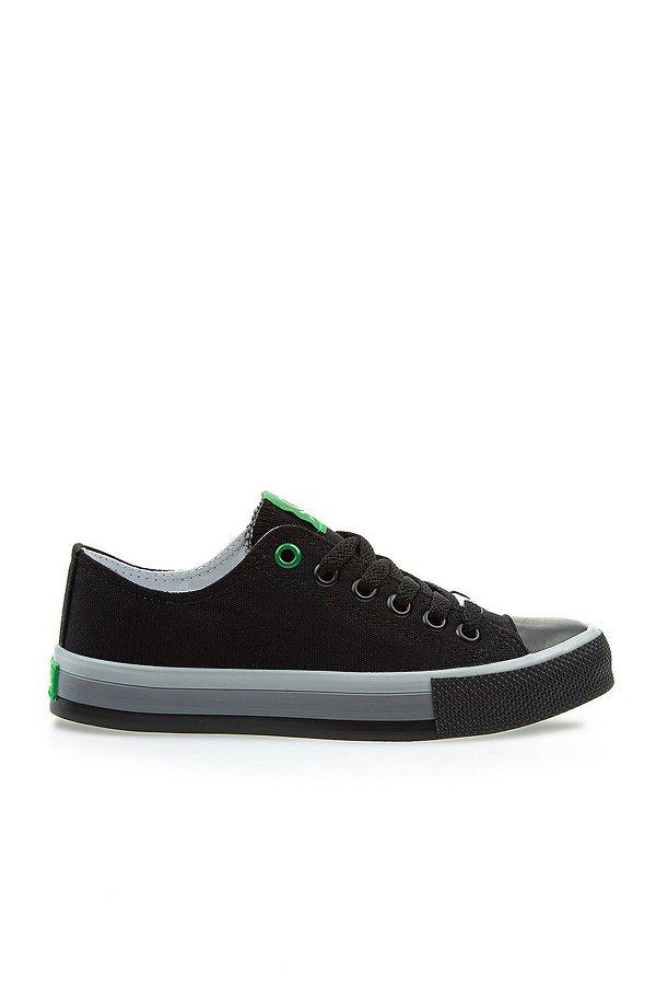 Benetton Kadın Spor Ayakkabı SIYAH