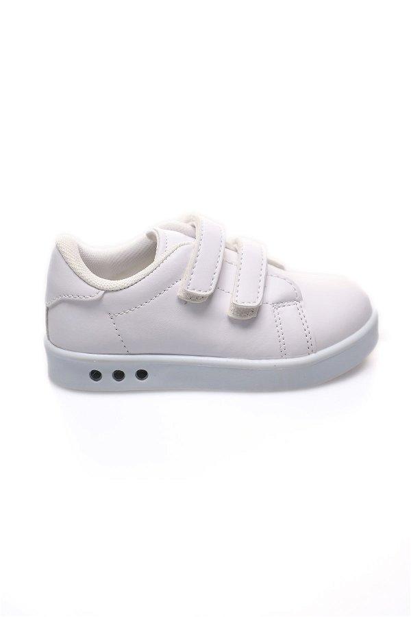 Çocuk Spor Ayakkabı Beyaz