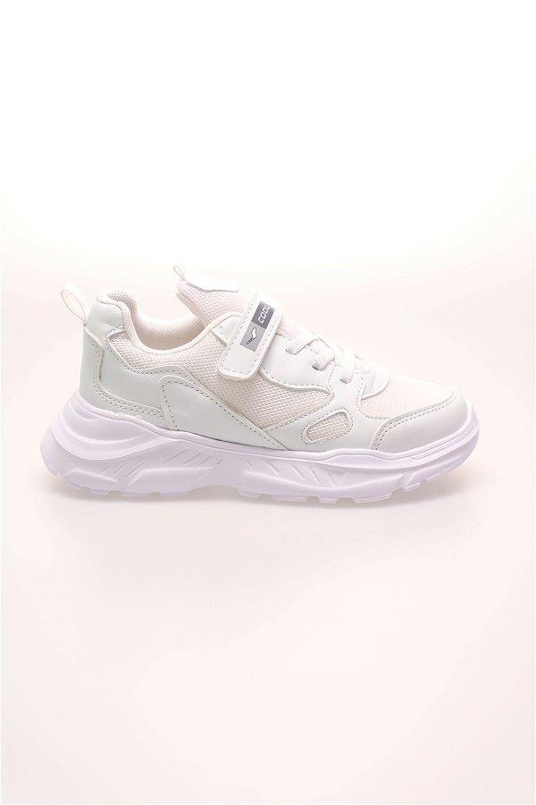 Çocuk Spor Ayakkabı BEYAZ-BUZ