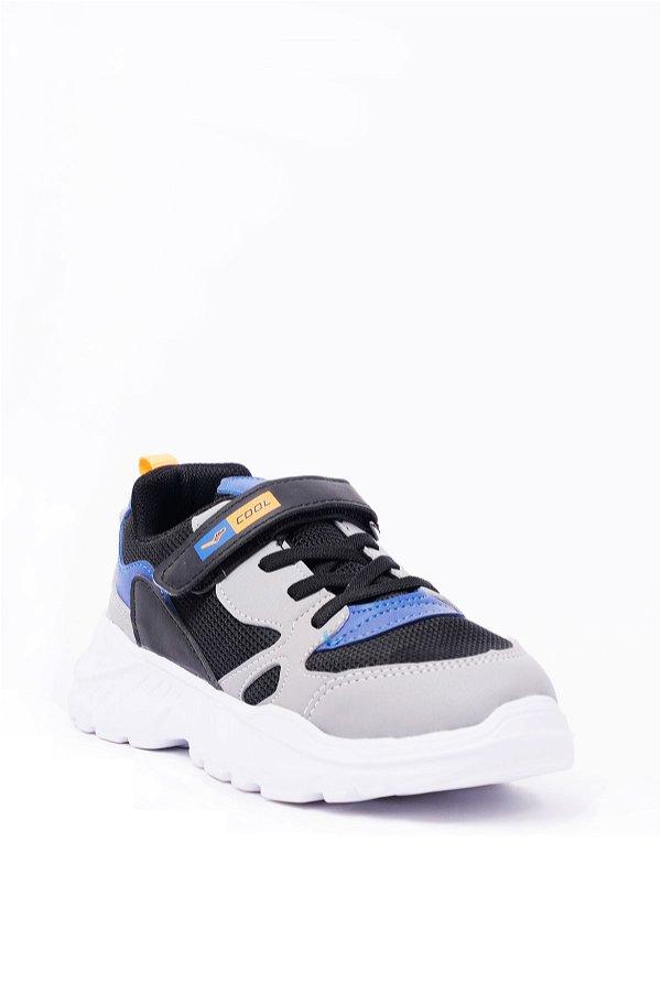 Çocuk Spor Ayakkabı SİYAH-FÜME