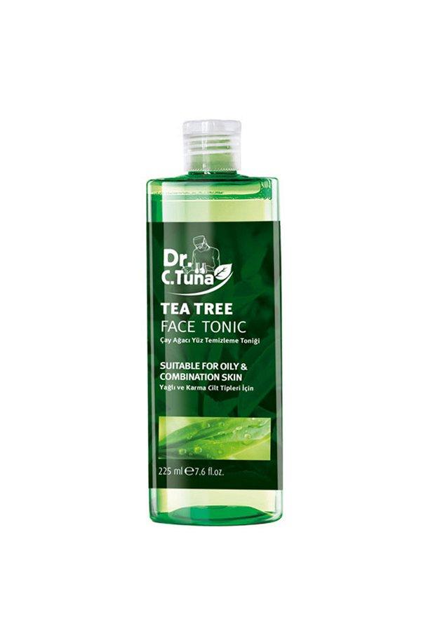 DR.C.Tuna Çay Ağacı Yağlı Yüz Temizleme Toniği 225 ML. STD