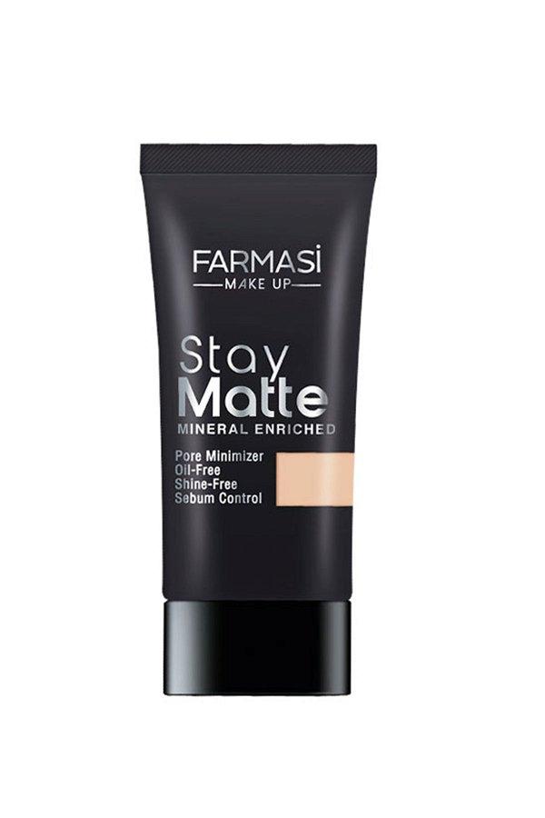 Farmasi Make Up Stay Matte Fondöten 30 Ml Lıght Ivory - 01 01