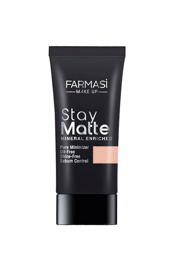 Farmasi Make Up Stay Matte Fondöten 30 ML Natural - 03 03