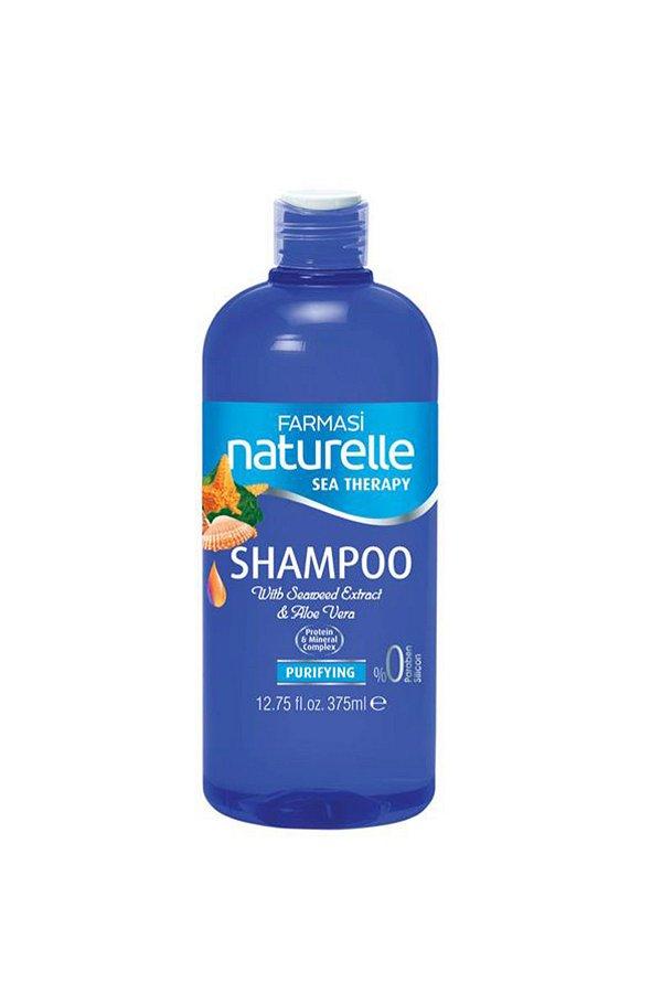 FArmasi Naturelle Deniz Mineralleri Arındırıcı Şampuan 375 ML STD