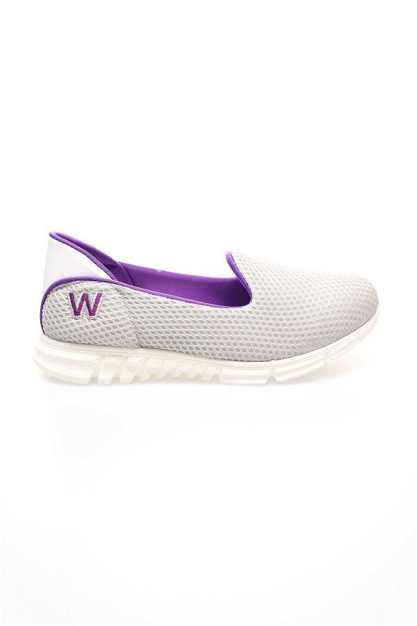 File Kadın Ayakkabı BUZ-MOR
