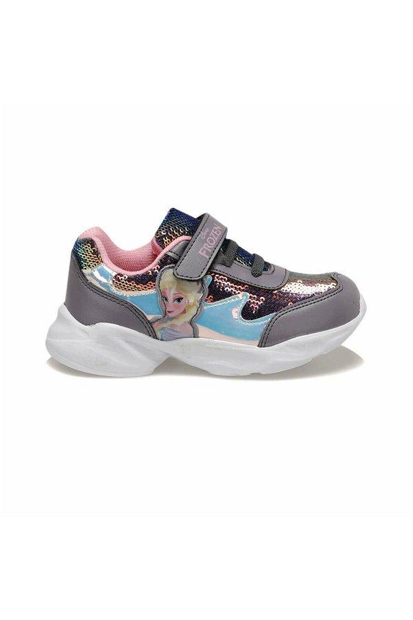 Frozen Kız Çocuk Spor Ayakkabı GRI