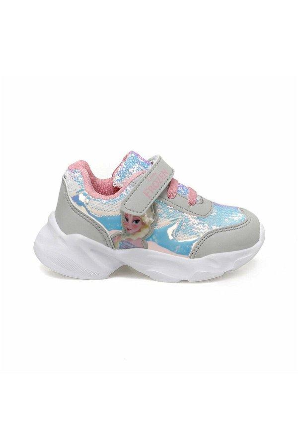 Frozen Kız Çocuk Spor Ayakkabı GUMUS