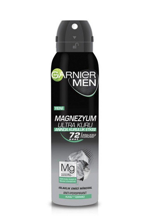 Garnier Men Magnezyum Ultra Kuru Sprey Deodorant STD