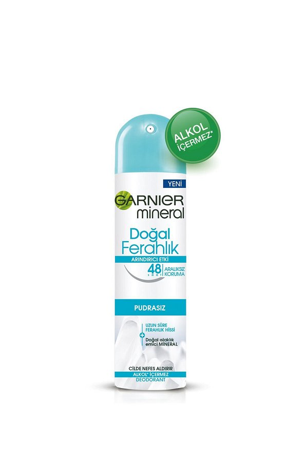 Garnier Mineral Doğal Ferahlık Sprey Deodorant STD