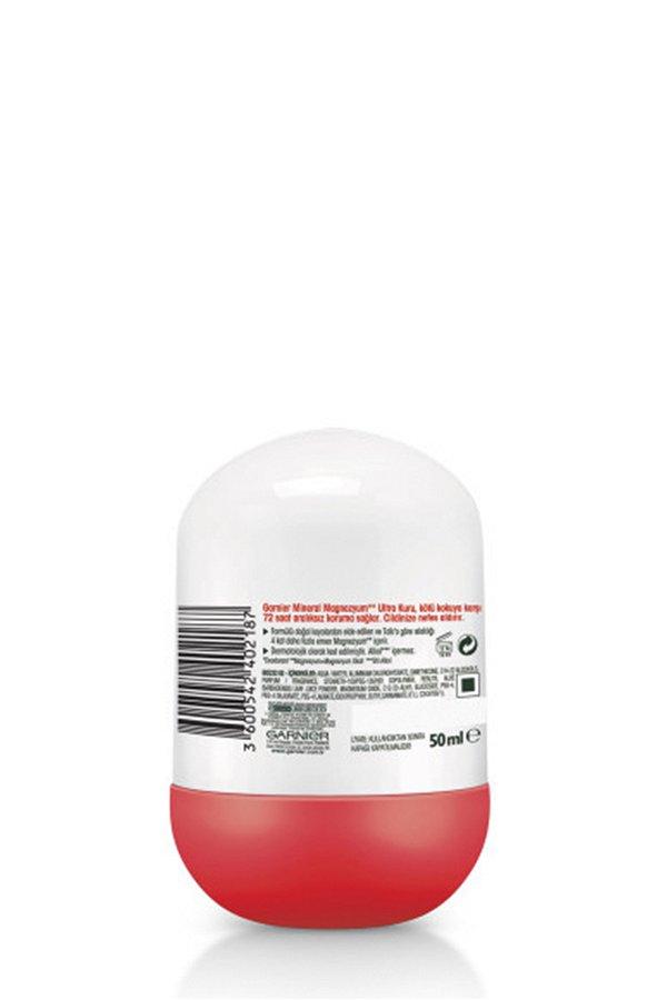 Garnier Mineral Magnezyum Ultra Kuru Roll on STD