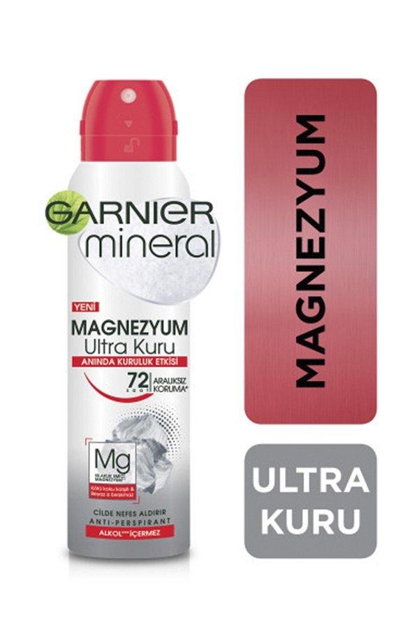 Garnier Mineral Magnezyum Ultra Kuru Sprey Deodorant STD