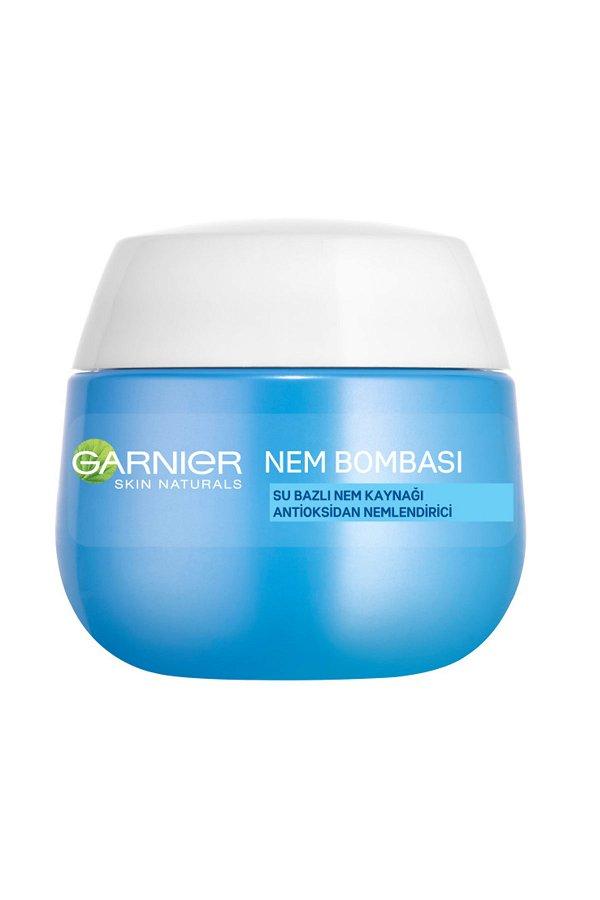 Garnier Nem Bombası Su Bazlı Nem Kaynağı Antioksidan Nemlendirici 50ML STD