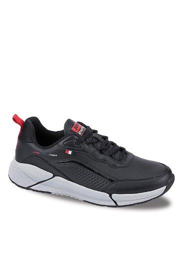 Jemp Erkek  Spor Ayakkabı SIYAH-KIRM