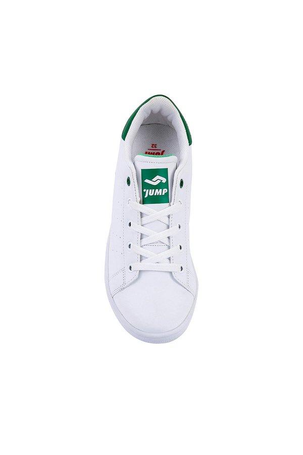 Jump Bağcıklı Çocuk Spor Ayakkabı BEYAZ YESL
