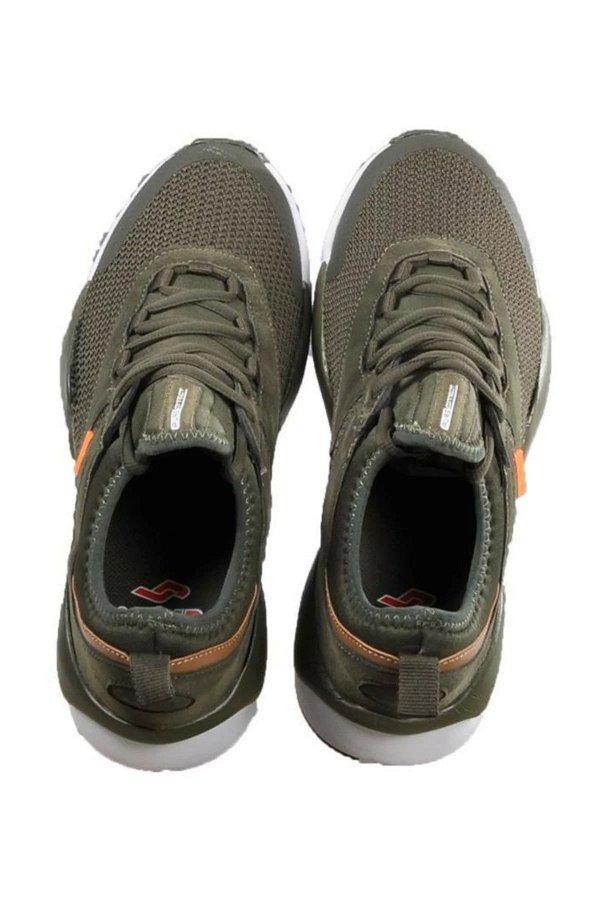Jump Bağcıklı Erkek Spor Ayakkabı HAKI