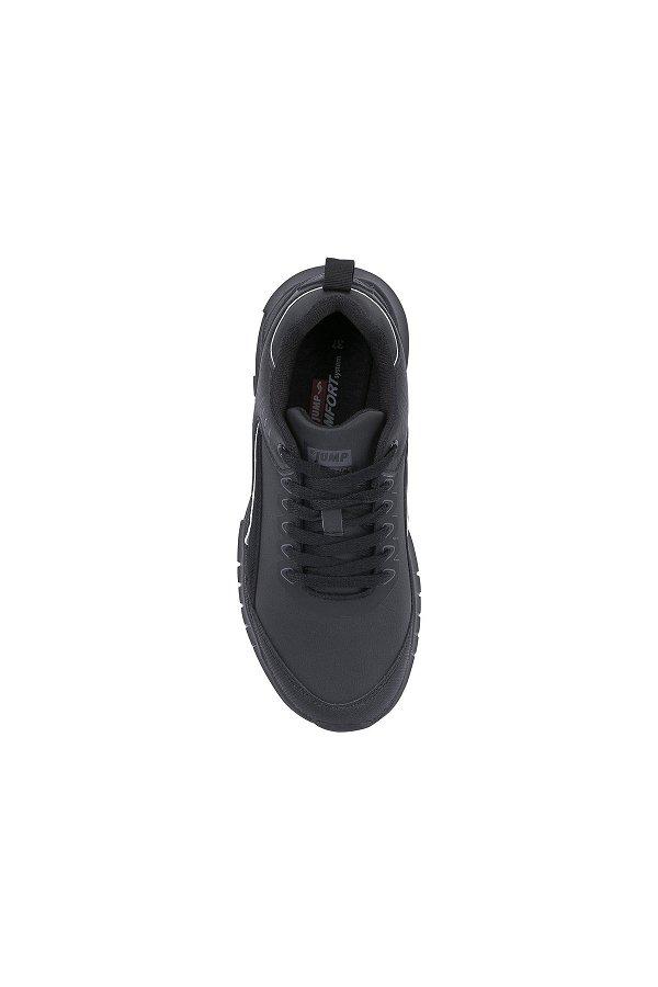 Jump Bağcıklı Spor Ayakkabı SIYAH