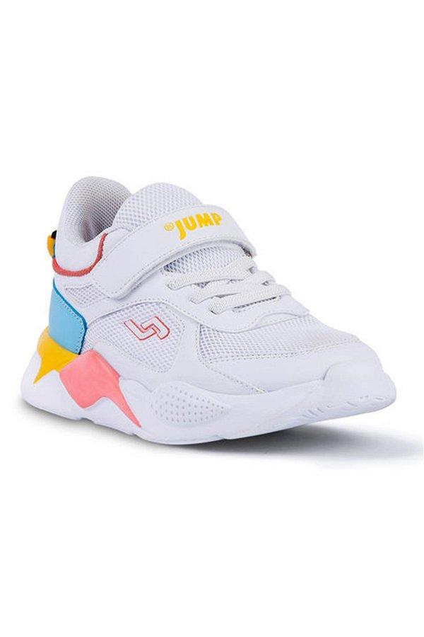 Jump Filet Çocuk Spor Ayakkabı BEYAZ MAVI