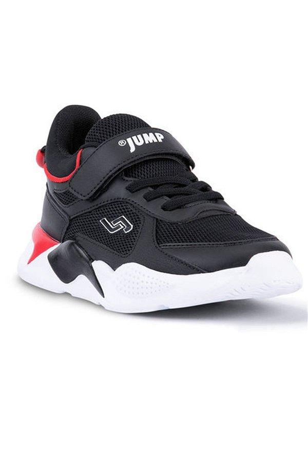 Jump Filet Çocuk Spor Ayakkabı SIYAH-KIRM