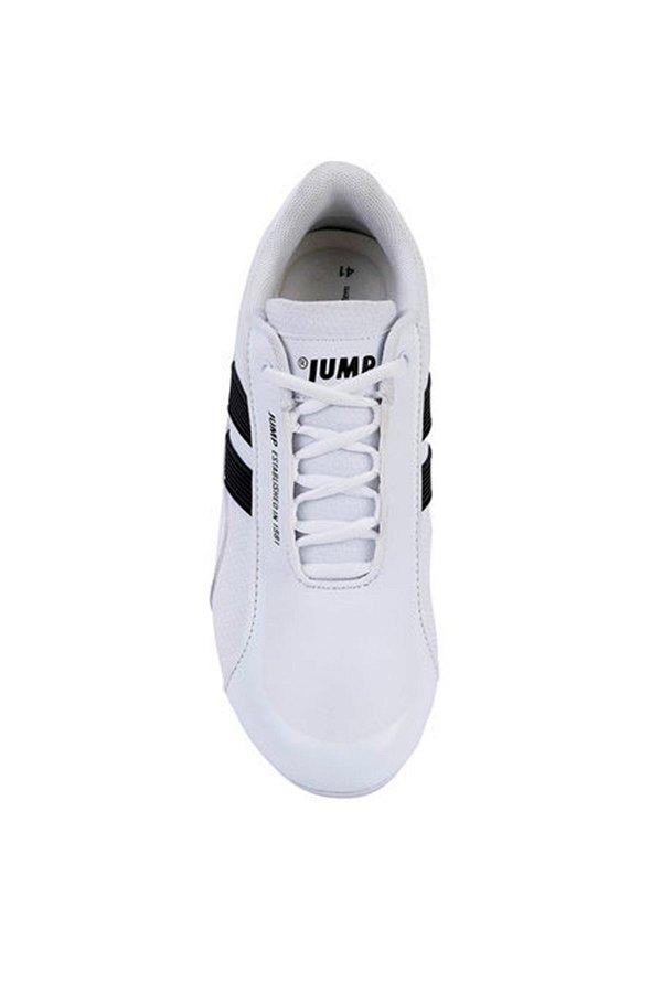 Jump Erkek Spor Ayakkabı BEYAZ-SIYA
