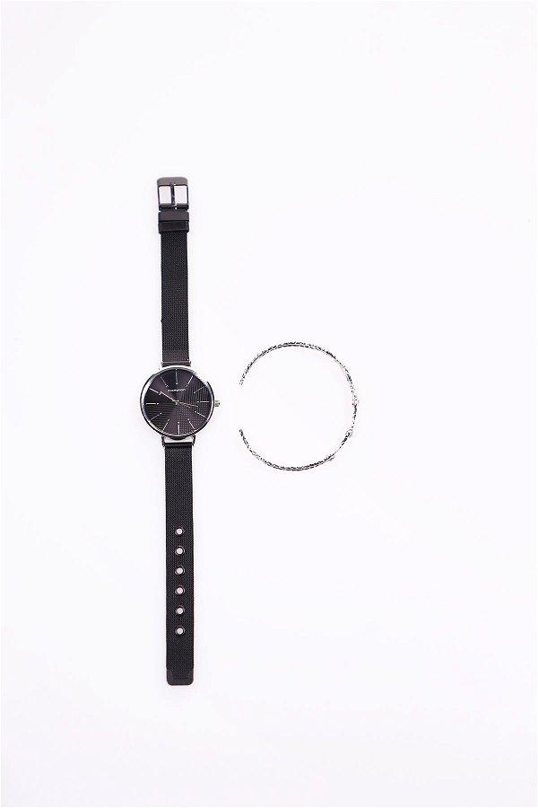 Kadın Saat Bileklik Set