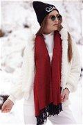 Kadın Şal Kırmızı