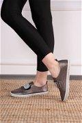 Pul Detaylı Spor Ayakkabı PLATIN