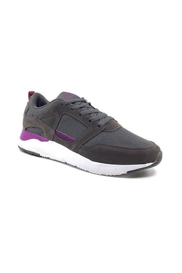 Kinetix Aster TX Gri/Mor Spor Ayakkabı