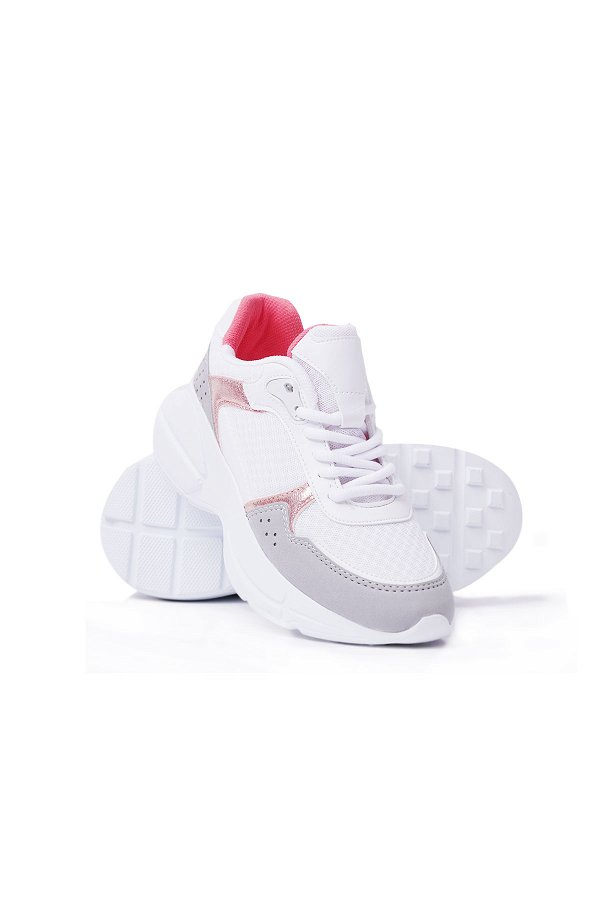 Kinetix Ava Kadın Spor Ayakkabı BEYAZ