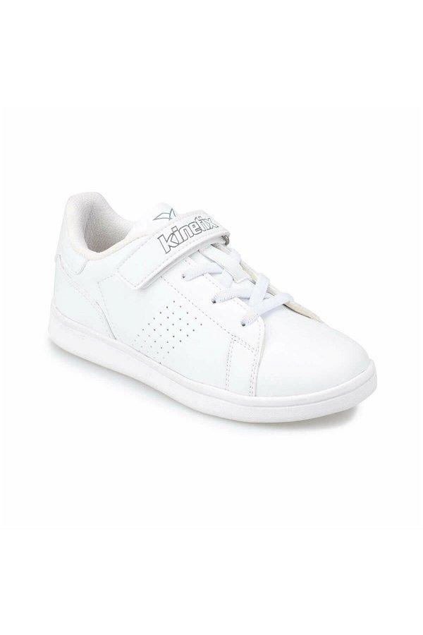 Kinetix Plain Beyaz Çocuk Spor Ayakkabı BEYAZ