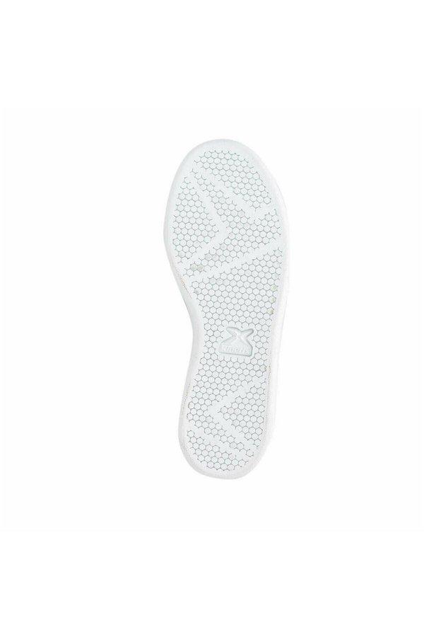 Kinetix Plain Beyaz/Yeşil  Kadın Spor Ayakkabı BEYAZ